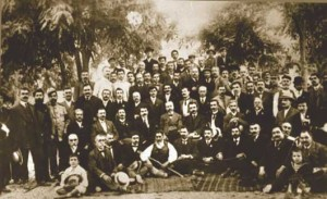 Ο αποχαιρετισμός του Βενιζέλου από τους Κρήτες το 1910